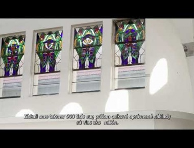 Embedded thumbnail for Video trailer about the restoration of the synagogue